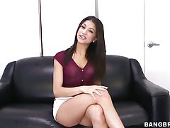 Veronica Rodriguez pleasures herself with a fuck stick
